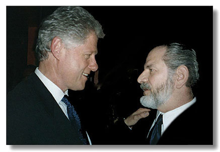 Steve Jaffe with Pres. Clinton